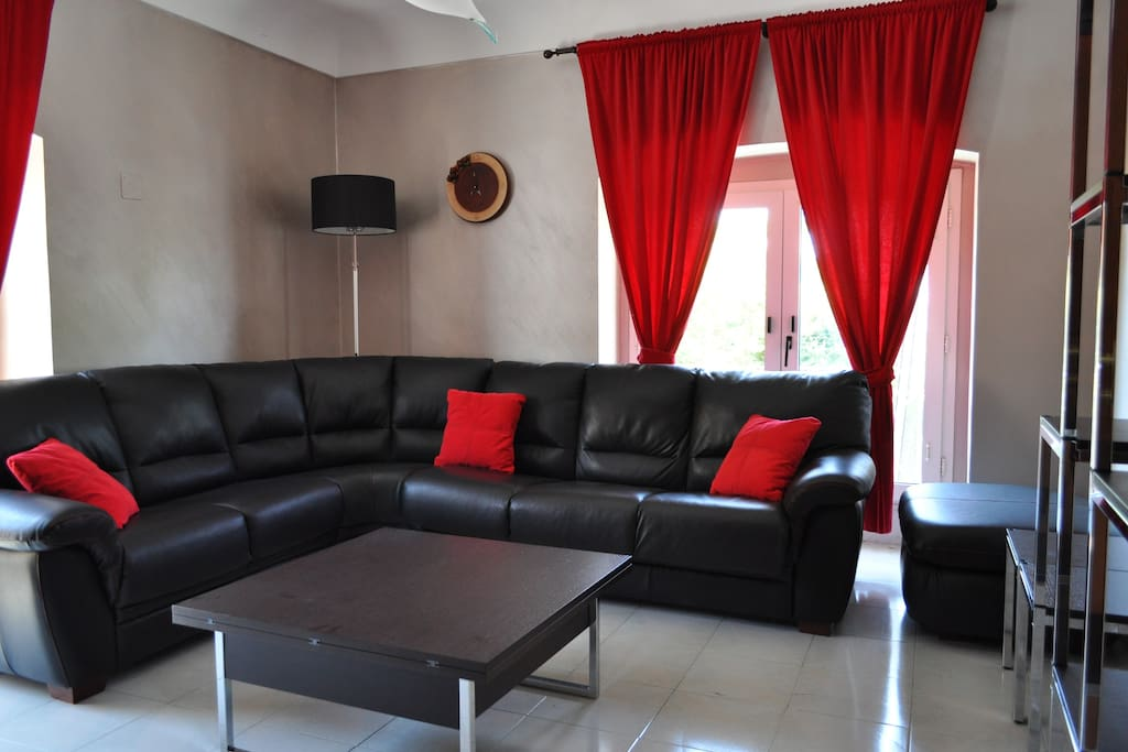 Salone con divano letto