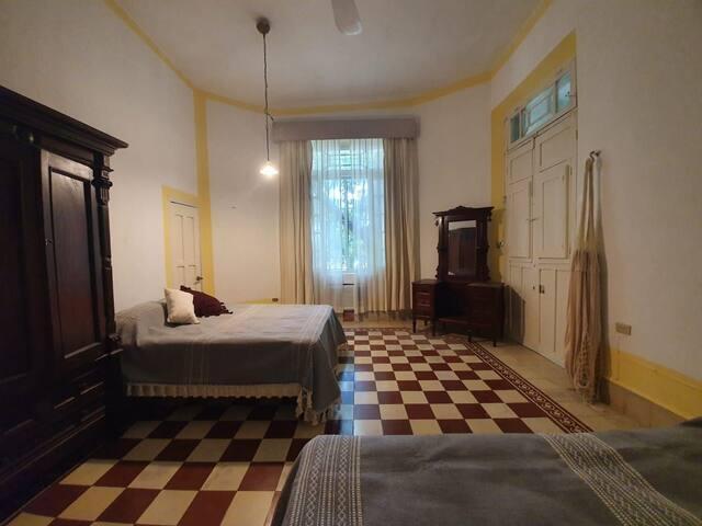 Hotel boutique Casa Espejo da Luca Casona del siglo XIX Habitación 2 camas matrimoniales
