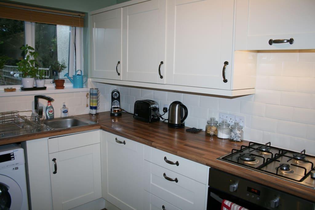 Kitchen facilities, newly refurbished