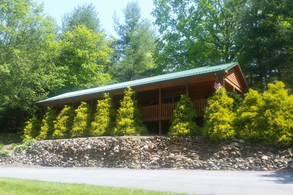 beautiful river front cabin cabins for rent in sparta