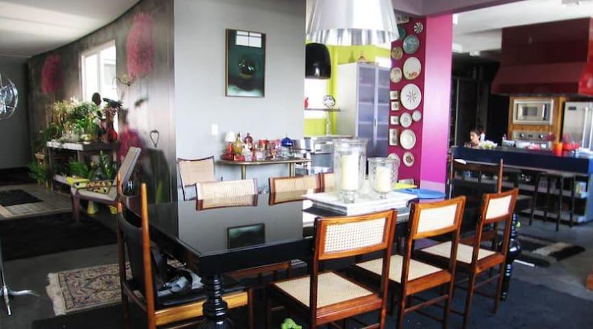 Dinner room + Kitchen