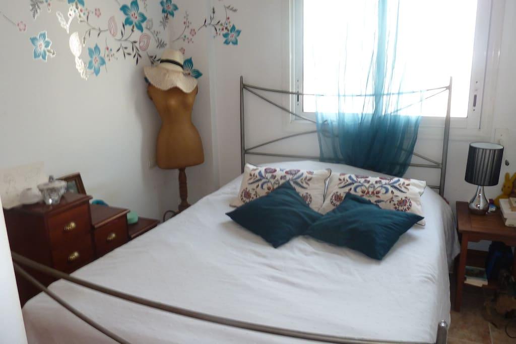 Chambre à coucher.