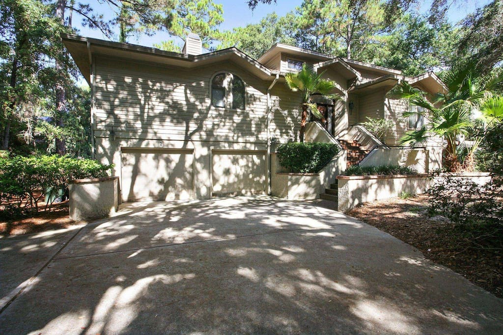 Nestled beneath a canopy of Oaks and Pines