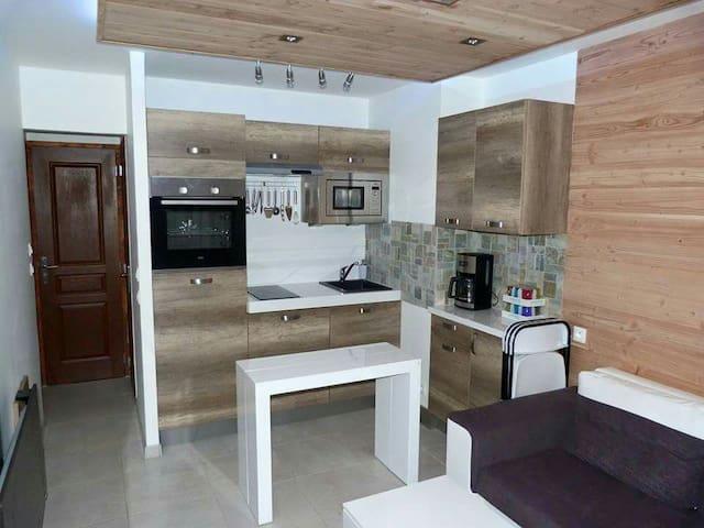 T2 Style Chalet Contemporain - Villar-Saint-Pancrace - Apartamento