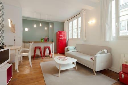 Beautiful & perfectly located flat - Párizs - Lakás