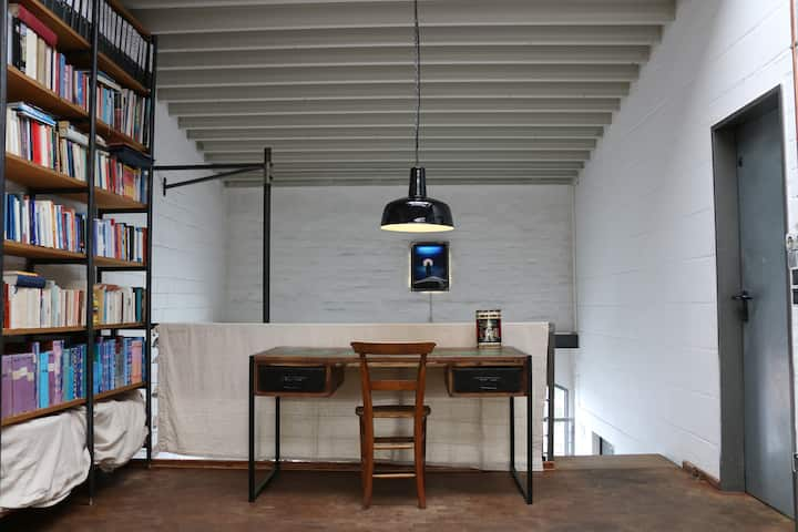 Private floor in converted factory - Düsseldorf