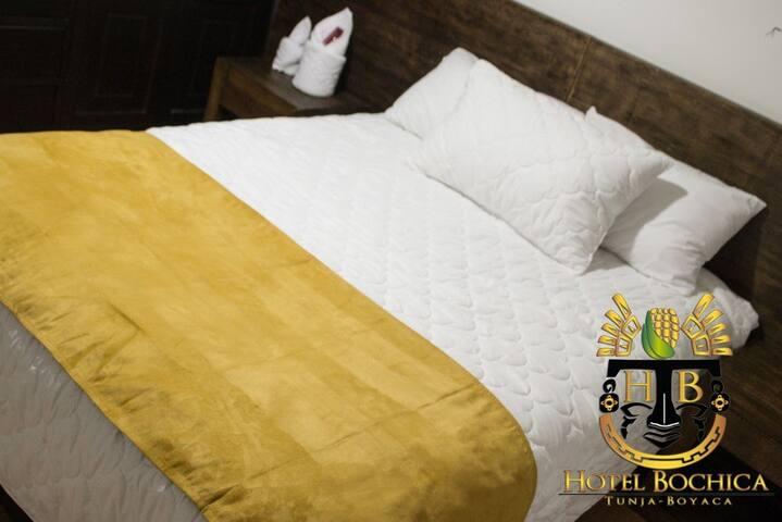 PARA SU DESCANSO ELIJA EL HOTEL BOCHICA