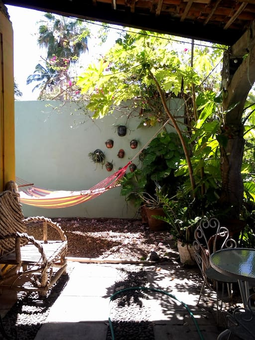 A siesta in the hammock awaits you.