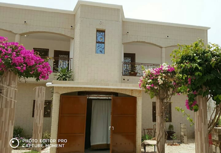 4 double bedrooms in a beautiful house