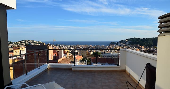 Beautiful appartment with sea view in Costa Brava
