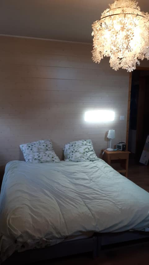 Chambre 2 lits Vieugy - Seynod - Sud d'Annecy