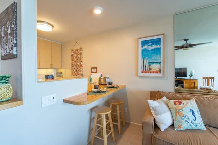 202 Beautiful second floor 1 bedroom condo