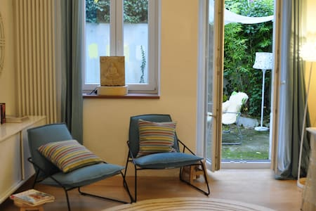 Gartenwohnung in Jugendstilvilla
