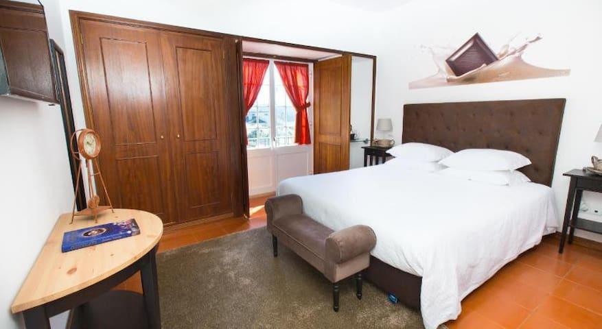 "Villa da Travancinha Hotel Room ""Chocolate"""