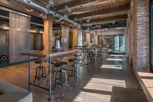 Coffee bar lounge