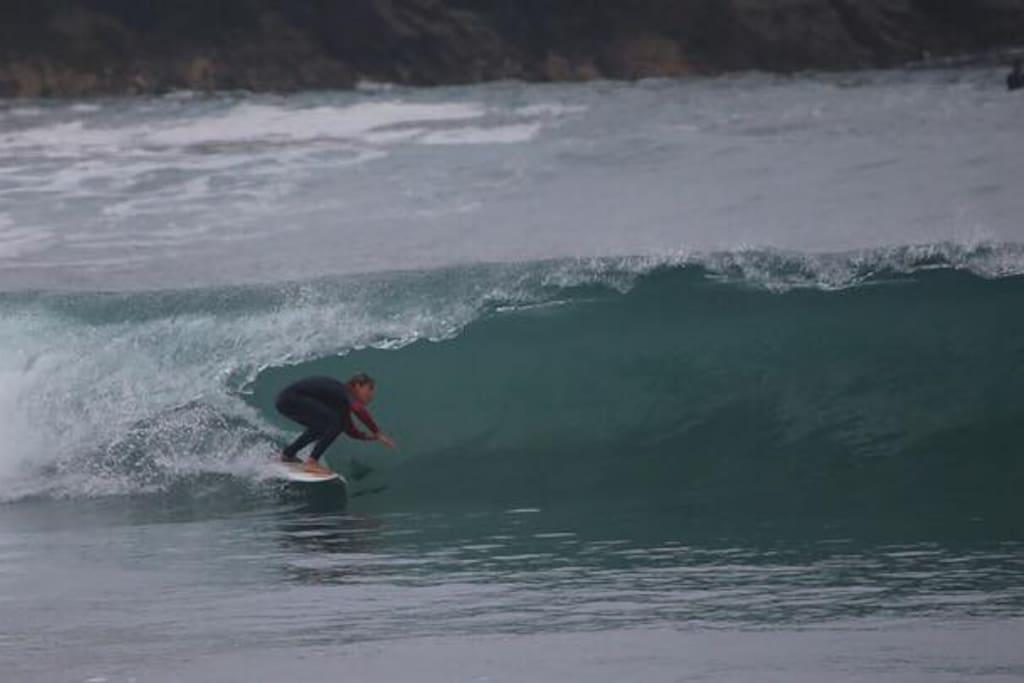 Olas del mar altas especiales para surf