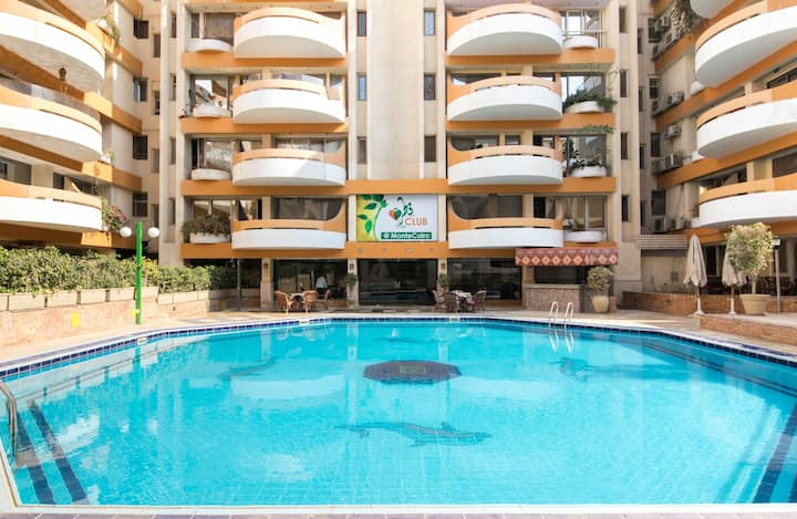 Nice Apartment in Monte Cairo - D306