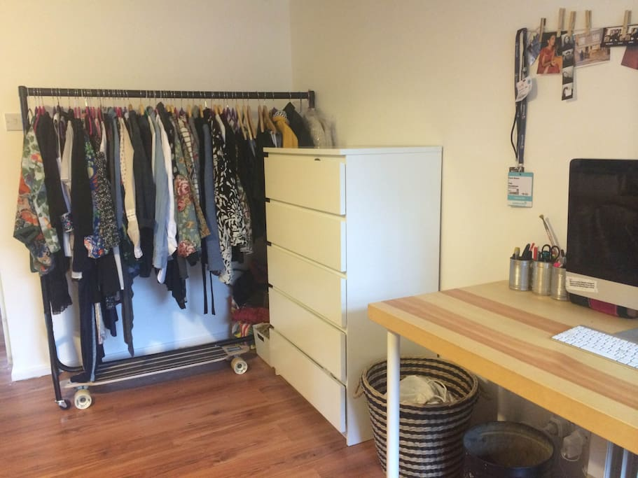 Clothes storage (mine will be removed)