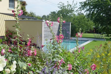 NOUS HOTES charming cottage, pool  - Chaumont-Gistoux
