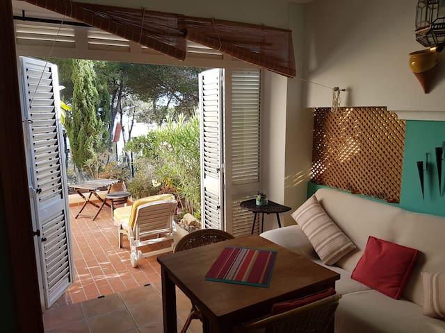 appartement pres de la plage de sable cala llenya - Santa Eulària des Riu