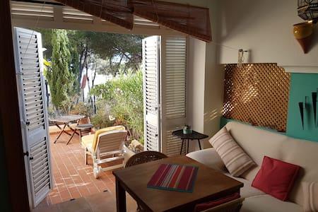 appartement pres de la plage de sable cala llenya - Santa Eulària des Riu - Apartmen