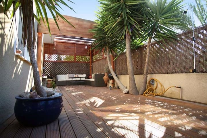 nice apartment, with yard & grill  - Paphos - Byt