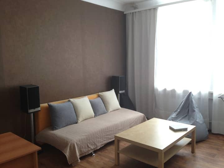 2-bedroom apartment near the Samara Arena 2018