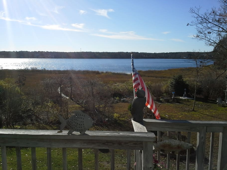 View of Follins Pond from deck