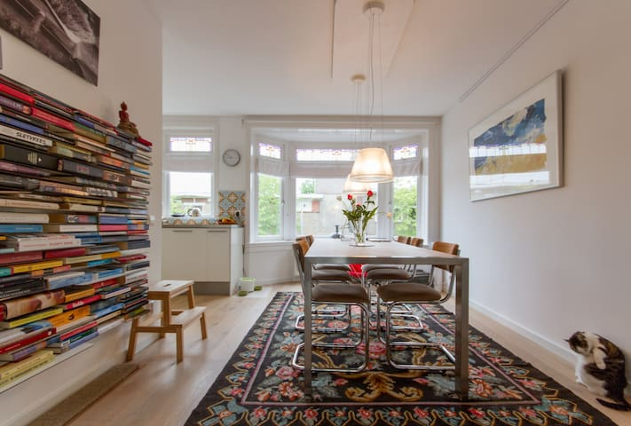 Peace and liveliness close to Amsterdam! - Haarlem - Apartamento
