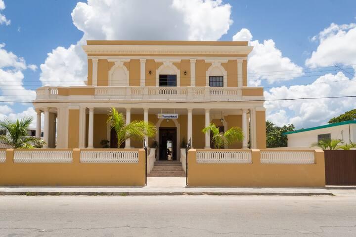 TecnoHotel Casa Villamar habitación estandar