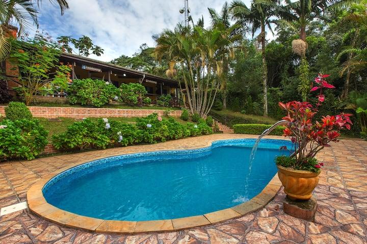 Rancho do Sossego seu refúgio com piscina aquecida
