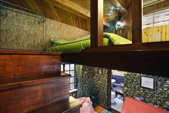 Rainbow Wooden Villa in French Concession 法租界的彩虹别墅 - Shanghai - House