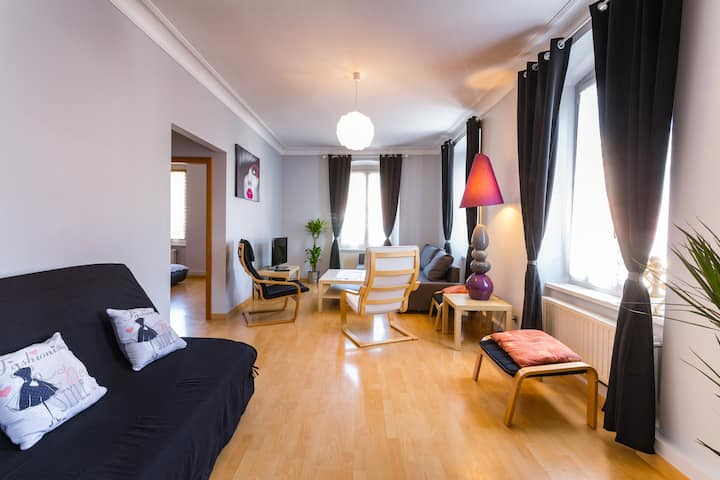 Appartement de 92 m2 entièrement rénové au calme