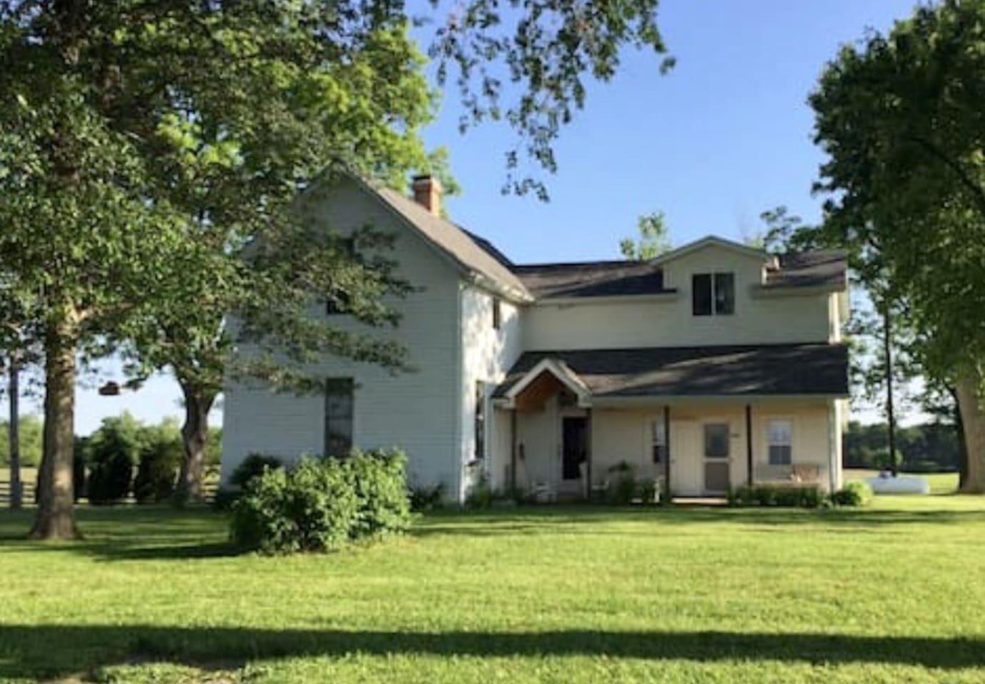 Historic Farmhouse on 80 acres