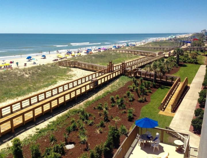 Carolina Beach Cabana Boardwalk and Beach Condo