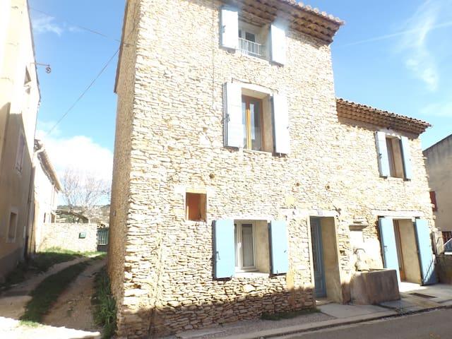 La maison à la Fontaine des Escairades - Villes-sur-Auzon - House
