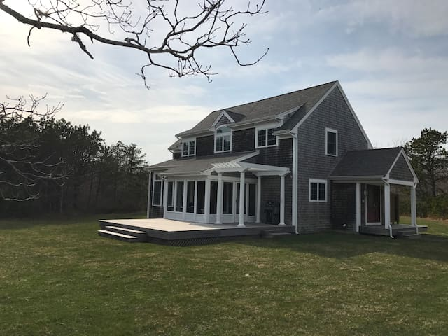 The Whale House - Martha's Vineyard - West Tisbury - Haus