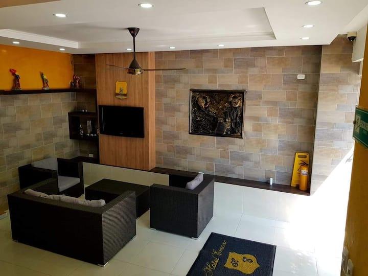 Habitación Sencilla Persona Sola con ventilador