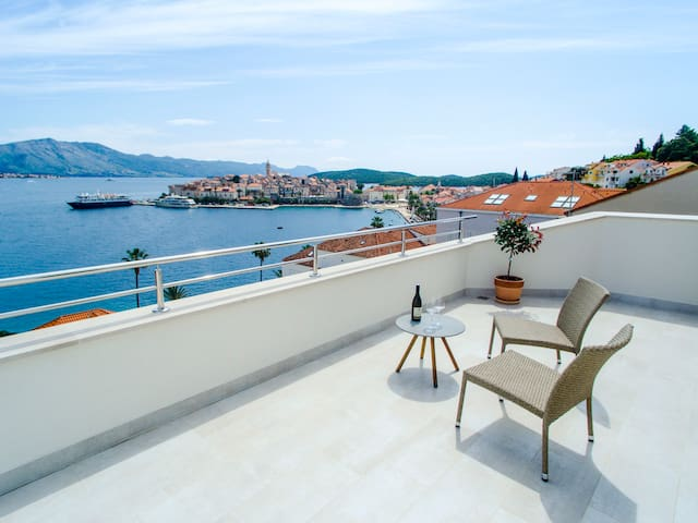 Apartment MAGO with stunning view
