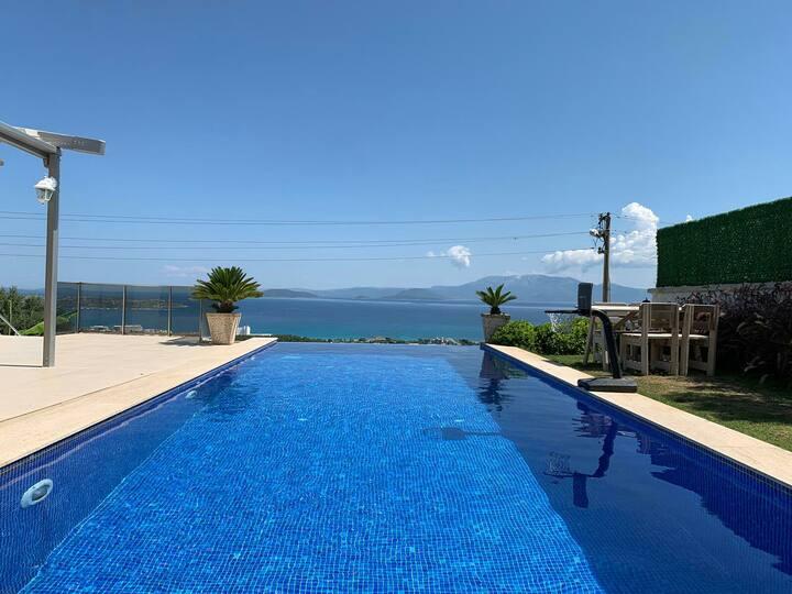 Genis Aile veGruplara  Super Lux Villa Havuz Huzur
