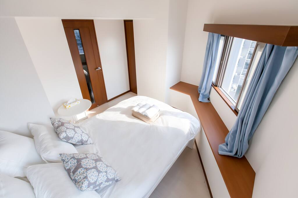 The top side of bedroom