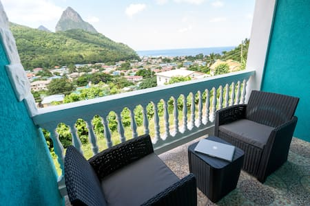 Sapphire Apartment 4.NEW! Close to EVERYTHING! - Soufriere - Lyxvåning