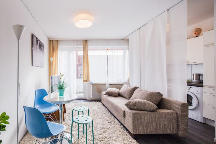 Cozy apartment in good location, with balcony