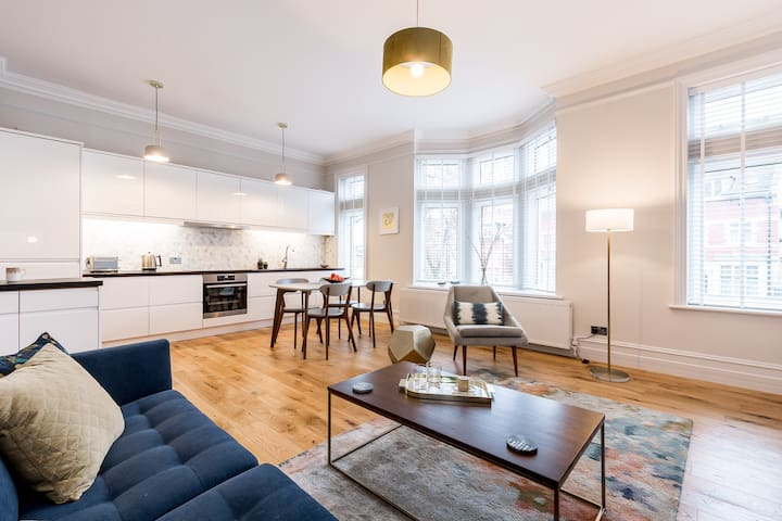 Stunning apartment in the heart of Hampstead