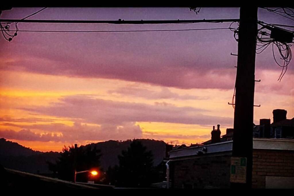 lovely sunset!!