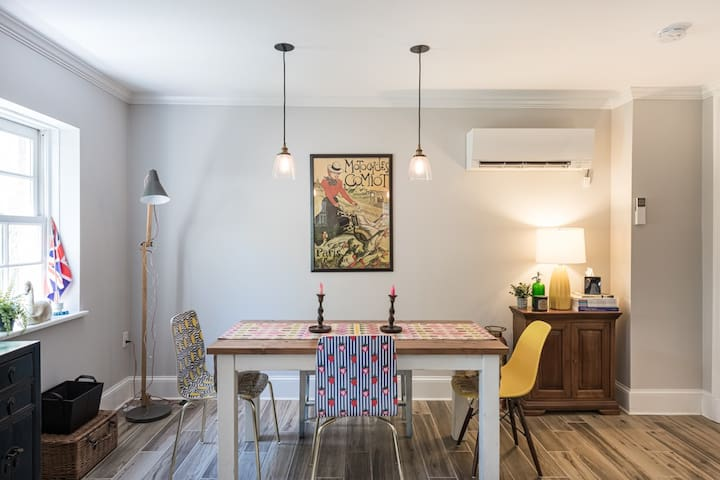 Apartment With Mid-Century Style