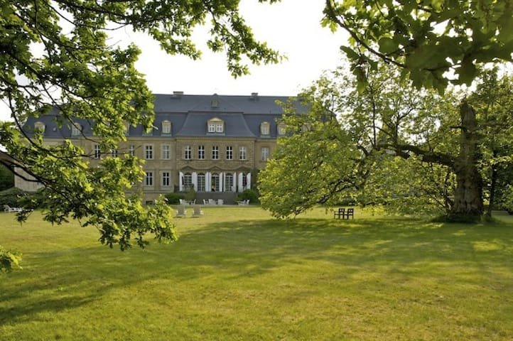 Königliche Suite in schönem Schloss - Doberschau-Gaußig - Castillo