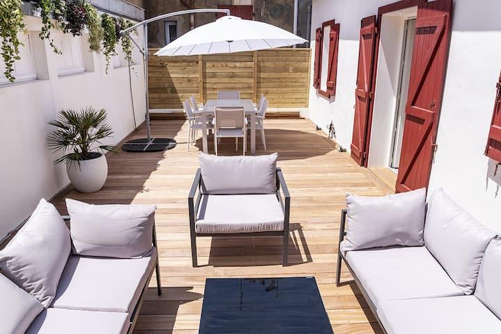 Appartement Terrasse Hypercentre Biarritz