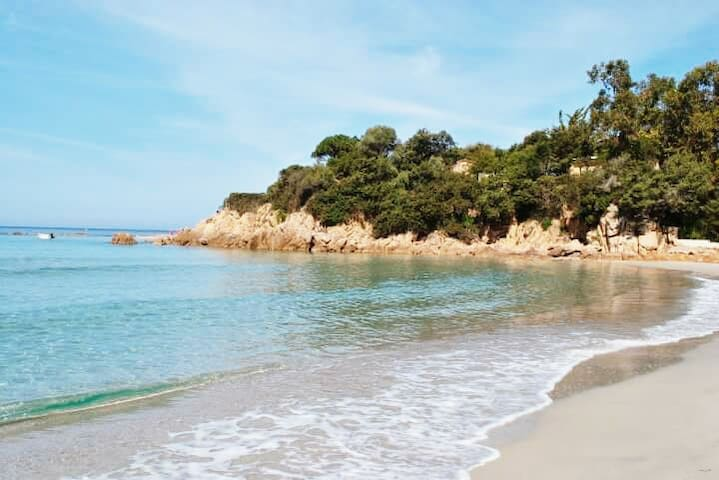 Agréable T2 à 2 mns à pieds de la plage du Rupione