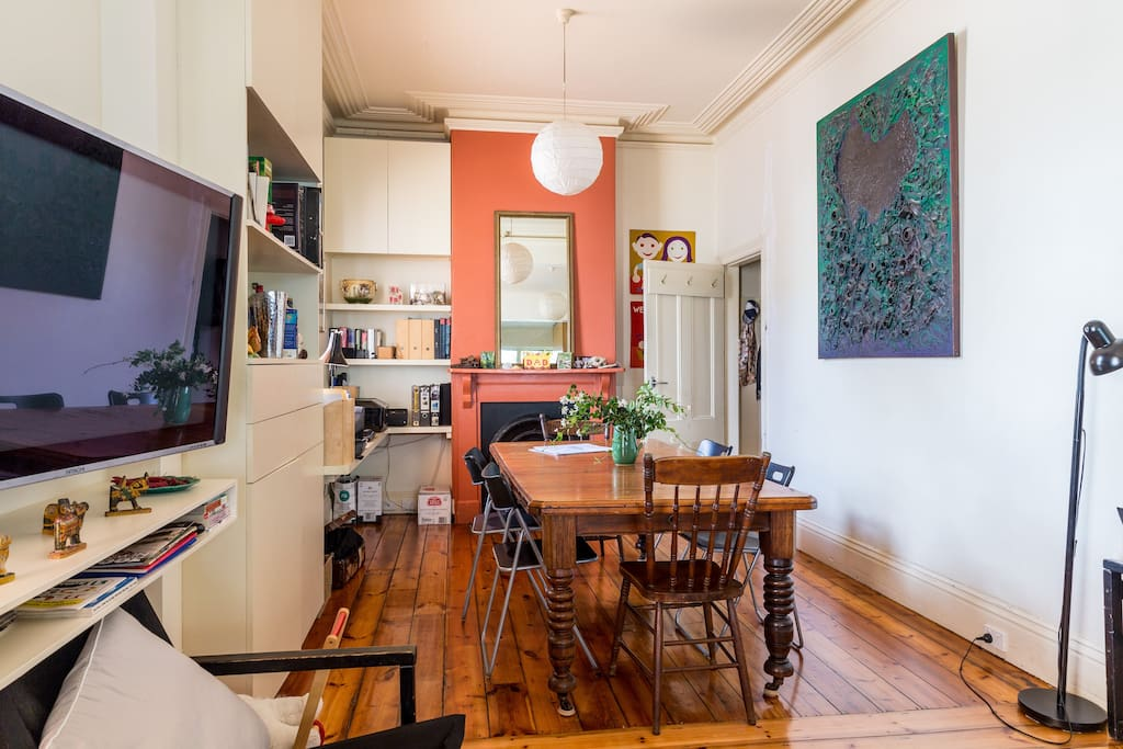 West melbourne terrace the study maisons louer west - Maison entrepot melbourne en australie ...